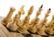 Free White Chess Figures Stock Photos - 6240443