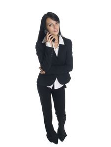 Free Businesswoman - Phone Call Royalty Free Stock Photography - 6240817