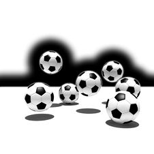 Free Soccer Balls Stock Image - 6241421