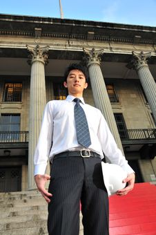Young Asian Engineer 4 Stock Photography