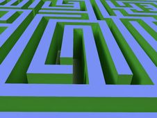 Free 3D Labyrinth Stock Photography - 6241972