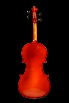 Free Violin On Black Royalty Free Stock Image - 6242166