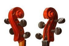 Free Neck Of A Violin Royalty Free Stock Photography - 6242197
