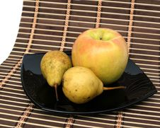 Free Apple And Pears Stock Photo - 6242220