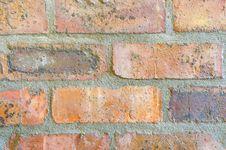 Abstract Brick Wall Stock Photography