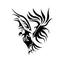 Free A Beautiful Bird Tattoo Design Vector Stock Photo - 6244020