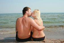 Free Love In Beach Royalty Free Stock Photography - 6244027