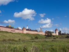 Monastery-fortress In Suzdal Stock Photography
