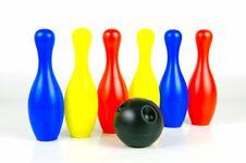 Free Ten Pin Bowling Royalty Free Stock Photos - 6244188