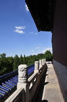 Free Building In Beijing Heaven Temple Royalty Free Stock Photo - 6244485