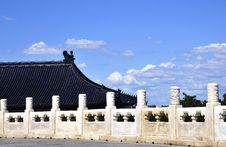 Free Building In Beijing Heaven Temple Royalty Free Stock Image - 6244486
