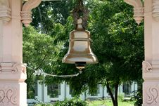 Free Brass Temple Bell Stock Photos - 6244523