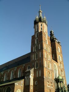Free Mariacki Church In Cracow Royalty Free Stock Photo - 6244755