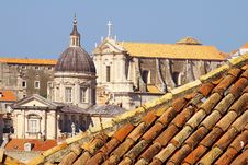 Free Dubrovnik Old City, Cathedral. Royalty Free Stock Photography - 6245747