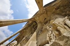 Free Passion On Sagrada Familia Stock Photo - 6246260