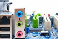 Free Motherboard Sockets Royalty Free Stock Photos - 6246728