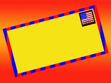 USA Letter 2 Stock Image