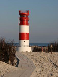 Free Leuchtturm Helgoland Düne Südstrand Royalty Free Stock Images - 6247599