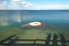 West Thumb Geyser Stock Images