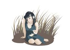 Free Young Sad Woman Stock Photography - 6248402