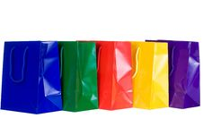 Free Colorful Shopping Bags Royalty Free Stock Photo - 6248475
