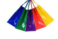 Free Colorful Shopping Bags Stock Photo - 6248490