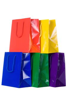 Free Colorful Shopping Bags Stock Photos - 6248493