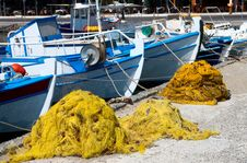 Free Fishing Port In Crete Island Royalty Free Stock Image - 6248976