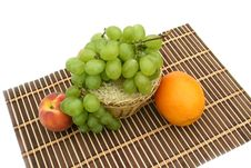 Free Green Grapes Stock Image - 6249571