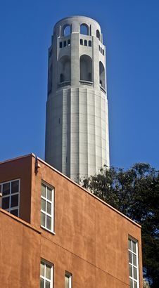 Free Coit Tower In San Francisco Royalty Free Stock Photo - 6249595