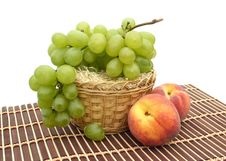 Free Peaches And Grapes Stock Image - 6249651