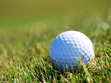 Free Golfball In Grass Royalty Free Stock Images - 6249769