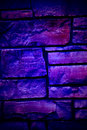 Free Blue Moody Flagstone Wall Stock Images - 6255264