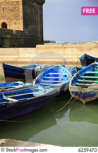 Free Essaouira Harbour Stock Photo - 6259470