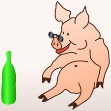 Free The Hog Stock Image - 6250881