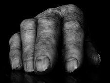 Free Senior Hand Stock Image - 6250901