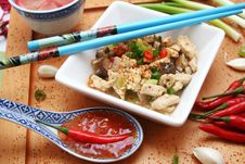 Asian Meal Royalty Free Stock Image