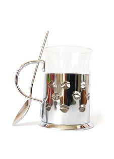 Free Cup From Metal And Glass Royalty Free Stock Photo - 6251275