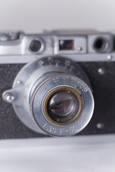 Free Vintage Camera With Dust And Scratches Royalty Free Stock Image - 6251616