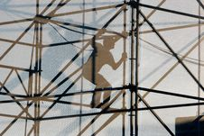 Free Silhouette Of Worker Stock Image - 6251671