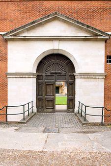 The Big Gate Stock Photo