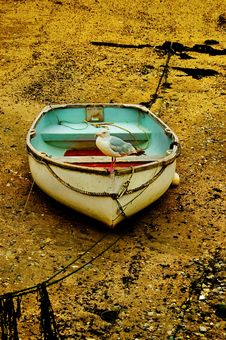 Free Old Rowing Boat. Stock Photography - 6252422