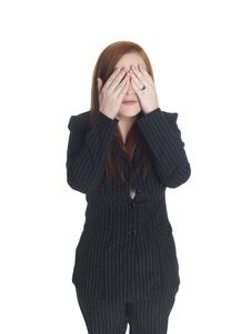 Free Businesswoman - See No Evil Stock Images - 6253054