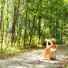 Free Pretty Young Runner Stock Image - 6253061