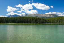 Free Tranquil Lake View In Canadian Rockies Stock Photos - 6253703