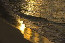 Free Sunset Wave Stock Photos - 6254343