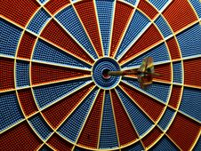Electric Bulls Eye Stock Photography