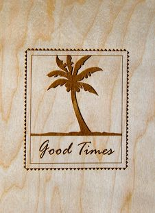 Free Good Times Palm Tree Royalty Free Stock Image - 6254756