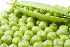 Free Fresh Pea Pods Royalty Free Stock Photography - 6254887