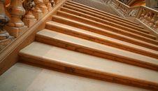 Free Shadowed Marble Stairway Stock Image - 6255081